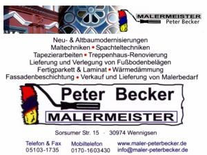 Peter Becker Malermeister