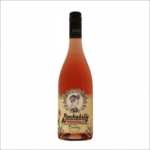 Betty Rosé 2016 vom Weingut Rockabilly Weinkult
