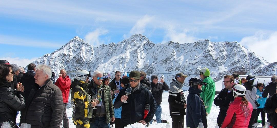 Wenn am Berg ruft: Höhendegustation am Gletscher
