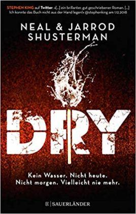 Shusterman: Dry. Cover
