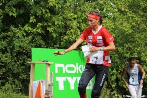 Julia Jakob (SUI), WOC 2018  relay, Diego Baratti  (3)