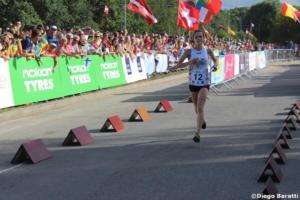 Sandra Grosberga (LAT), WOC2018 sprint relay, Diego Baratti (1)