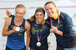 Swedish women medals WOC 2018  relay, Diego Baratti