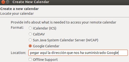 Sincronizar Thunderbird con Google Calendar 02