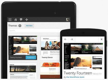 Diseño adaptable con WordPress