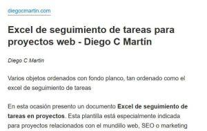 Modo lectura de Firefox activa en mi artículo de blog