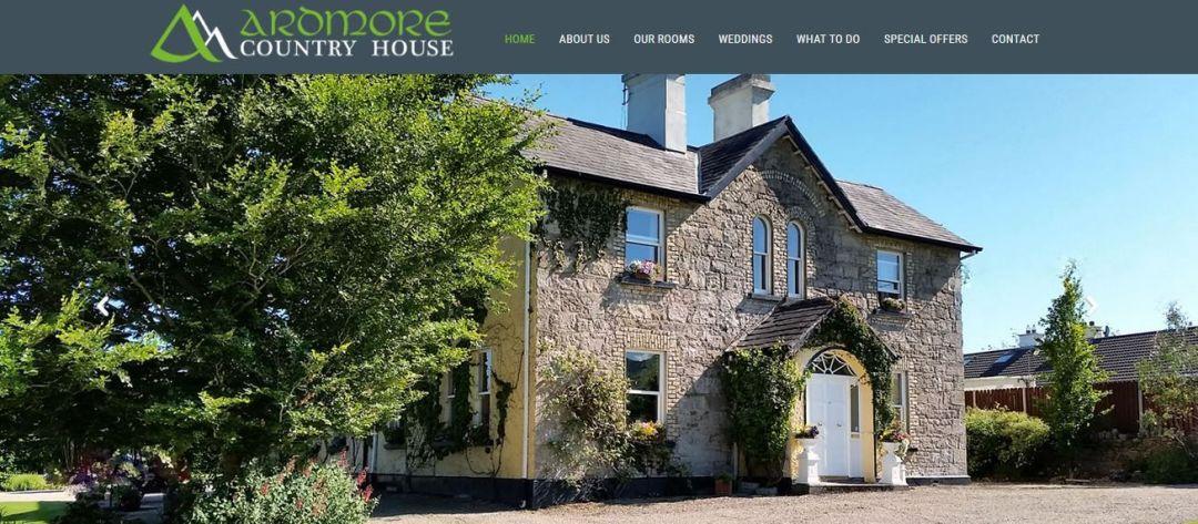 SEO para hoteles en Ardmore Country House