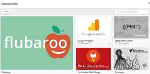 Componentes en Google Docs