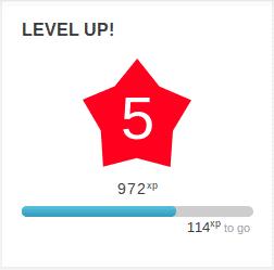 level up para gamificación en Moodle