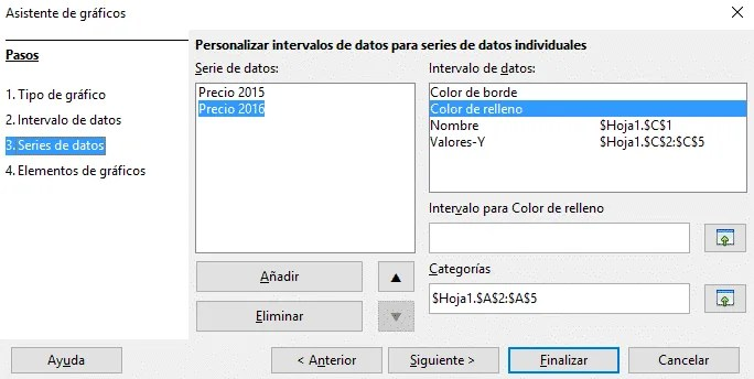 Insertar gráfico Libre Office Calc paso 3
