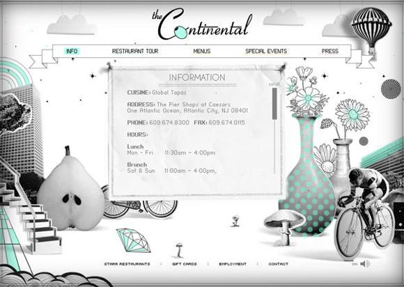 25 paginas webs para restaurantes