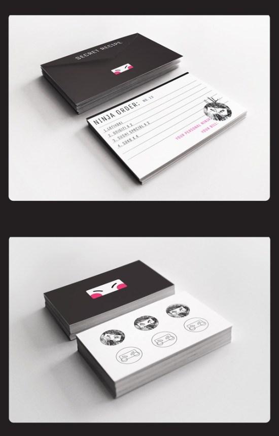 Cards for restaurants