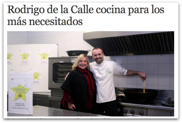 Rodrigo de la Calle kitchen for the needy