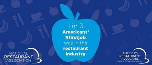 1 de cada 3 americanos reconoce que su primer empleo fue en un restaurante