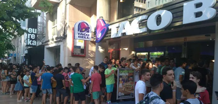 Taco Bell in Alicante