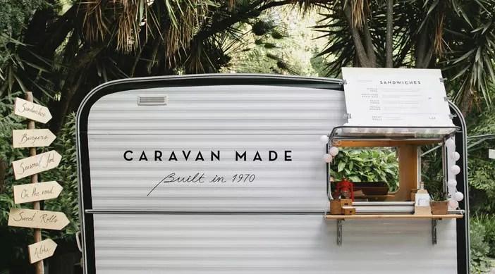 camion nourriture gastronomique Caravan fait