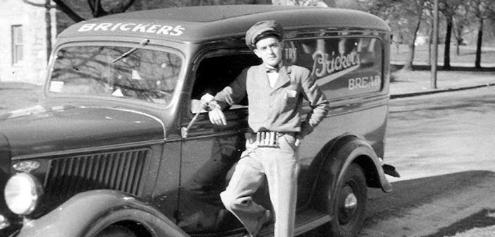 Bricker bread truck, decade of the 40