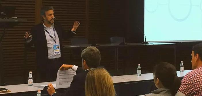 Diego Coquillat in San Sebastian Congress Gastronomika