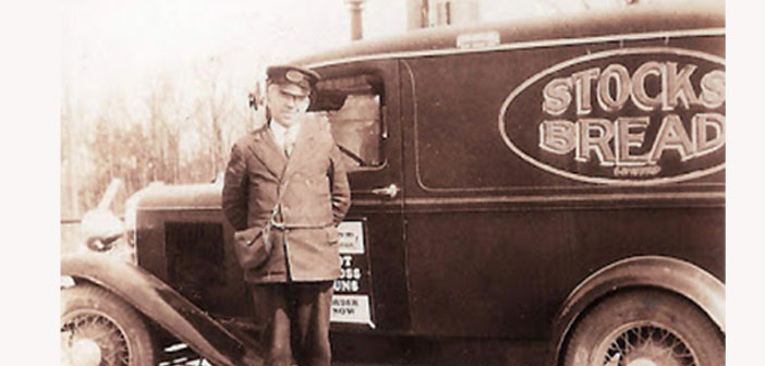 Stocks bread van, 1935