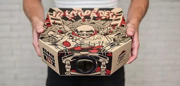 Cine gratis en casa con el proyector de cine que regala Pizza Hut