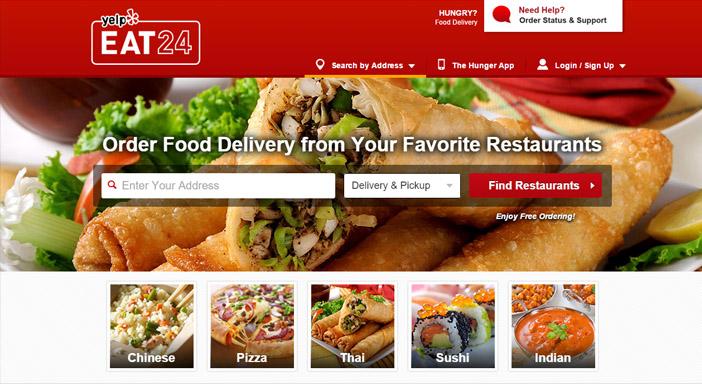 Eat24 comida en ligne