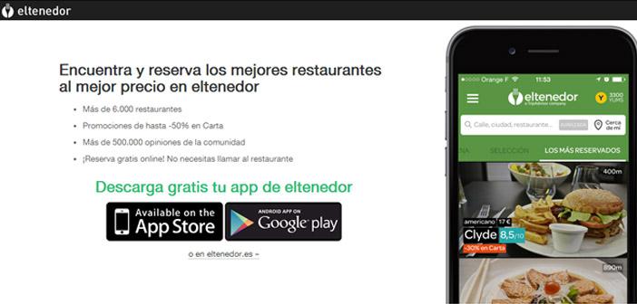El tenedor app