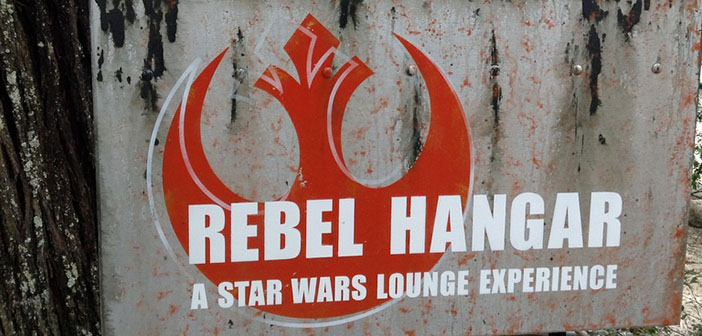 Rebel Hangar restaurant