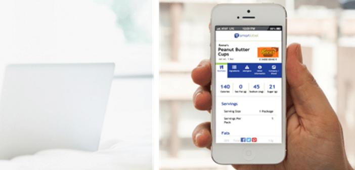 Interface de SmartLabel en Iphone