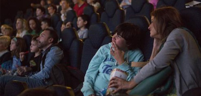 Cine adaptado a niños autistas