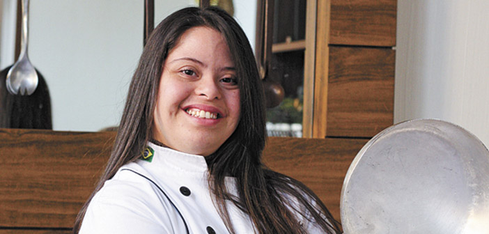 Laura, the chef with Down syndrome