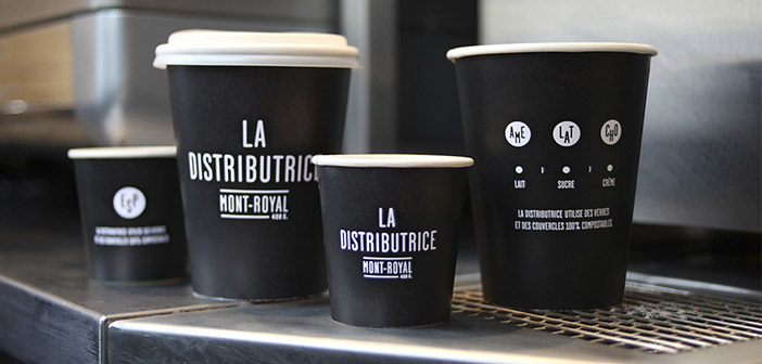 The Distributice uses recyclable materials 100%: glasses, covered and containers