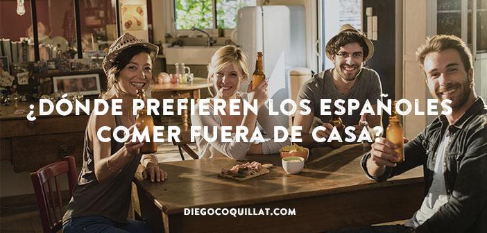 Los españoles prefieren tapear o comer en un bar que en un fast food