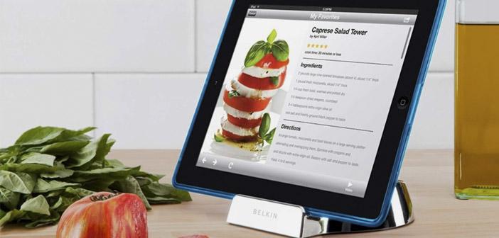 Accessoires de cuisine pour les tablettes