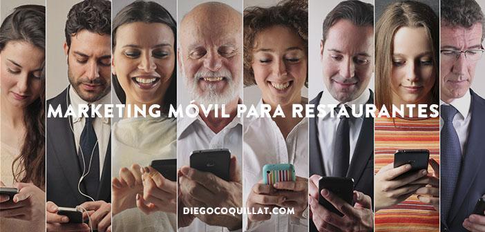Cómo puede el marketing móvil ayudarte en tu restaurante