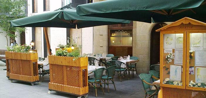 Le menu nous met en garde qu'un supplément appliquera 5 euros par action nourriture