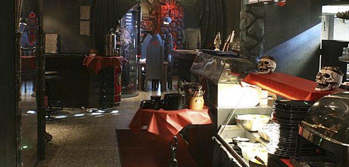En Laponia, Finlandia, la banda de rock Lordi abrió las puertas de un restaurante creado a su imagen y semejanza.