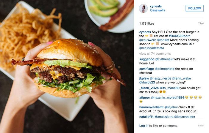 Instagram es una de las redes sociales más relevantes para la industria de los restaurantes. Tanto desde el lado de los propios hosteleros que la están convirtiendo en su diario fotográfico, como por el lado de los cientos de miles de usuarios o foodies que pueblan este canal digital.