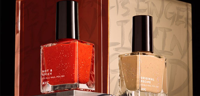 John Koay, & Quot; to use the nail polish consumers simply apply it and let dry, as a lacquer conventional nail, and then they may lick over and over again & quot;.