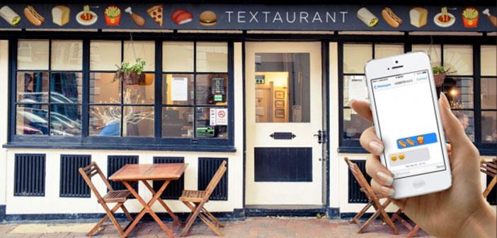 Fue el primer restaurante del mundo basado en Emojis, en concreto estaba en Melbourne.
