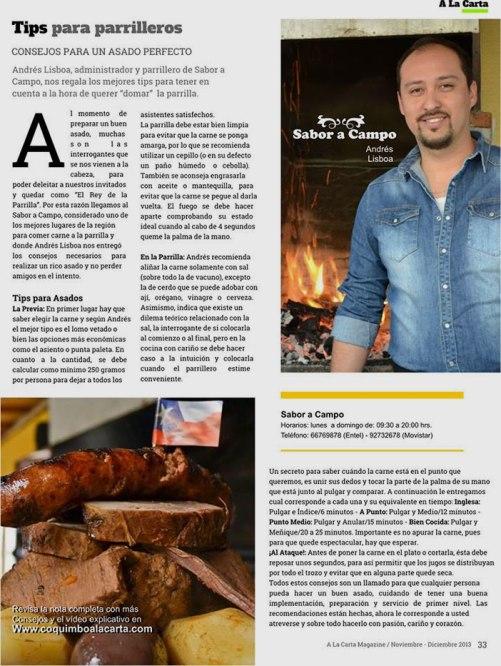 Andrés press mention in Lisbon