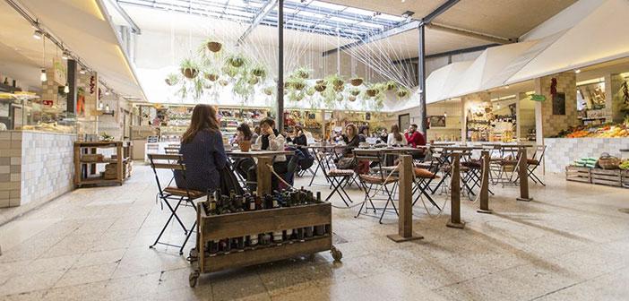 marché des aliments biologiques représente une option pour acheter des terres à table à Madrid.