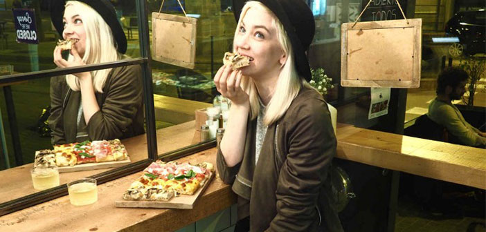 Lynn Quanjel modelo y foodie un Barcelone