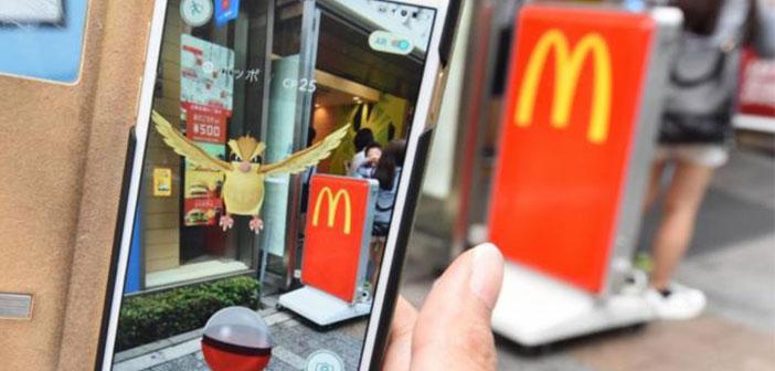 Les plans de McDonald de faire appel aux joueurs pour les empêcher de devenir une nuisance pour les clients qui dégusterons un hamburger.