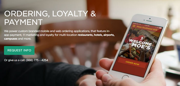 Splick-it would be a different case, here it is mainly committed to the use of mobile applications, whether the Splick-own platform based on it or you already have the restaurant.
