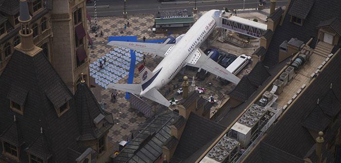 El director del restaurante, Li Yang, afirma que adquirió la aeronave comprándola a la compañía aérea Batavia Airways de Indonesia. Solamente el transporte tuvo un costo de 4 meses y costo 35 millones de yuanes.