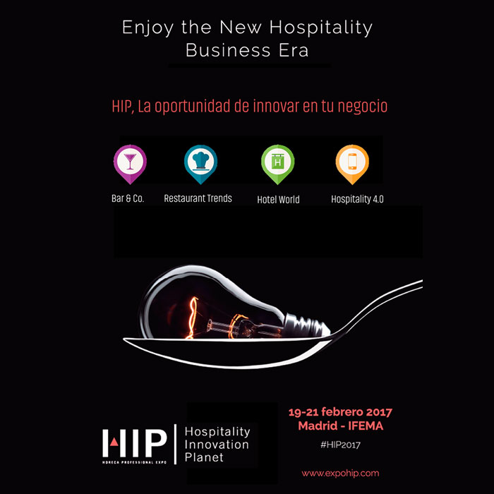 HIP is an essential event for business and hospitality professionals.