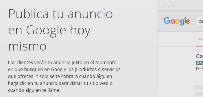 Usa Adwords, la plataforma de anuncios de Google para móviles