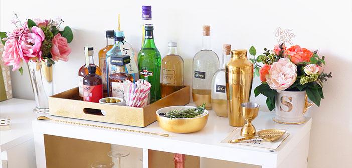 También la decoración vintage/tradicional y la coctelería.
