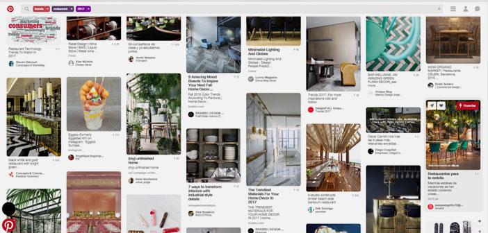 Estrategia en Pinterest para restaurantes.