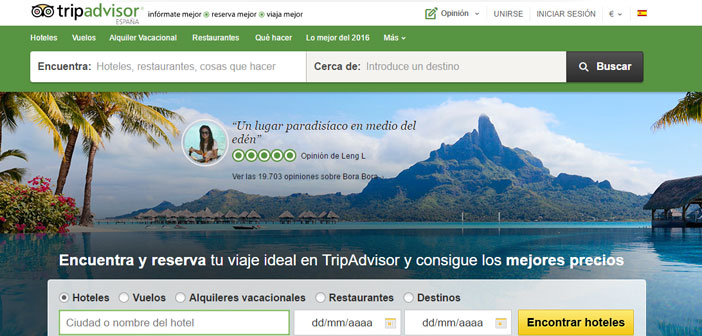 TripAdvisor has reviews Restaurant in 99% World countries. The quality of service, food, facilities, Personal treatment, etc…